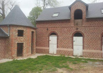 restauration mur en brique